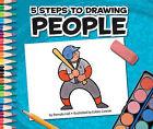 5 Steps to Drawing People by Pamela Hall (Hardback, 2011)