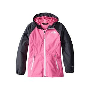 9f5e73c537 Girls North Face Allabout Insulated Jacket Cha Cha Pink Rain Coat ...