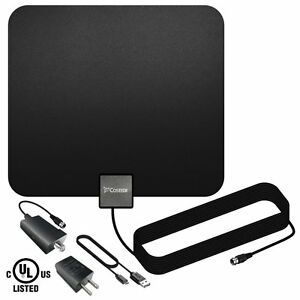 TV-Antenna-Costech-Indoor-Amplified-HDTV-Antenna-with-Detachable-Signal-Booster