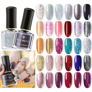 BORN-PRETTY-Glitter-Nail-Polish-Peel-Off-Holographic-Sparkly-Shiny-Varnish-Pink