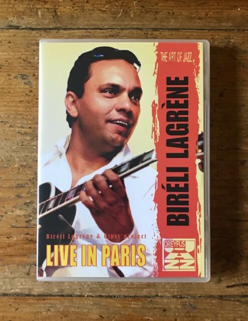 Biréli Lagrène & Gipsy Project - Live In Paris - DVD