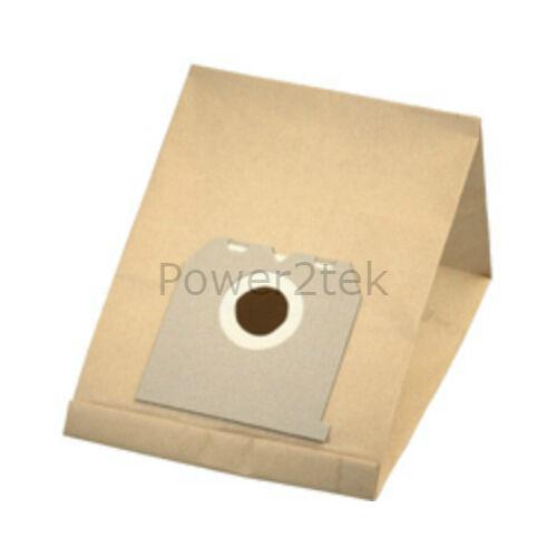 E42 E42N poussière sacs pour electrolux Z1856 chic Z1856 samba Z1857 vide 5 x E10