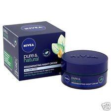 Nivea Puro Y Natural Regenerante Crema De Noche 50ml