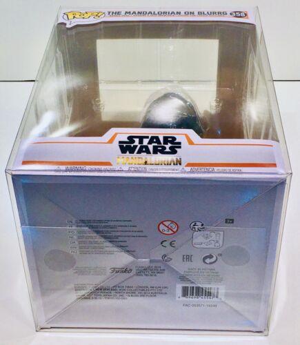 1 Box Protector For FUNKO POP MANDALORIAN ON BLURRG Star Wars Figure.Clear Case