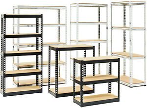 Piranha-Boltless-Industrial-Heavy-Duty-Shelving-Garage-Steel-Racking-Storage-Bay