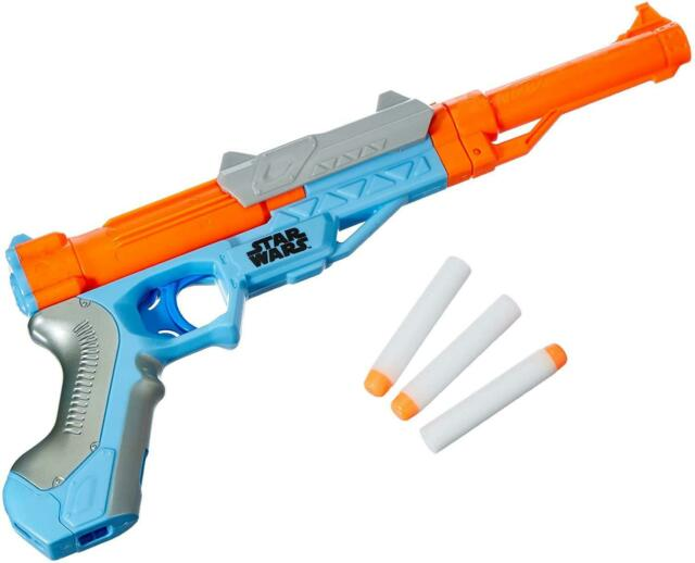 Nerf Star Wars The Mandalorian Blaster Official With 3 Nerf Elite Darts