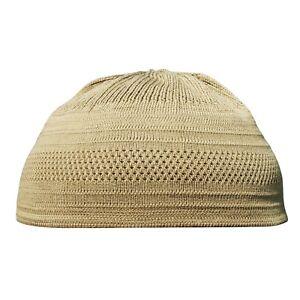 Image is loading TheKufi-Dark-Hazelnut-Cotton-Stretch-Knit-Kufi-Hat- a0c00c50756e