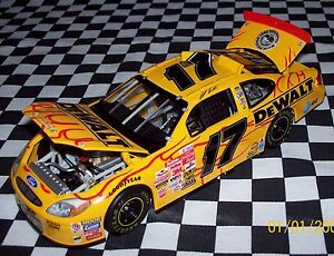 MATT KENSETH 2002 Team Caliber Dewalt Flames (1 Of 1200) 1:24 NIB