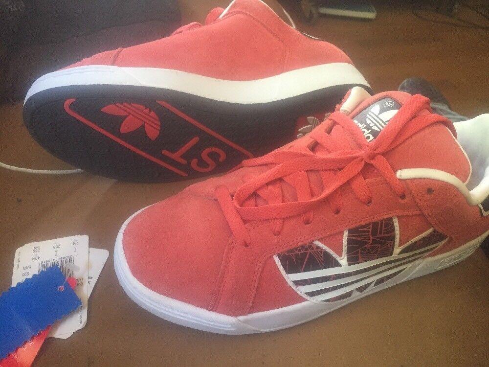 Adidas Trefoil St Orange Suede Art G44023