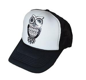 63f70902 Image is loading Cool-new-OWL-Logo-Mesh-Back-trucker-cap-