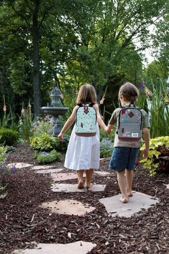 Enfants Sac à dos BESTWAY Vintage Fashion Enfants Jardin Sac à dos Sac à dos Patchy Ours