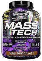 Mass Tech Protein Drink, Weight Gain Formula Milk Chocolate Health Fitness on Sale