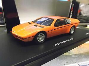 Bmw-m1-turbo-concept-x1-Prototype-estudio-1972-Orange-Red-rojo-Schuco-Pro-R-1-43