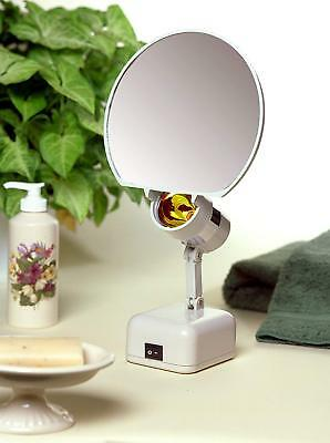 Floxite 8x Magnifying Mirror With 3 Light Levels Ebay