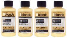 4 X Jerome Russell Bblonde Cream Peroxide 30vol 9%
