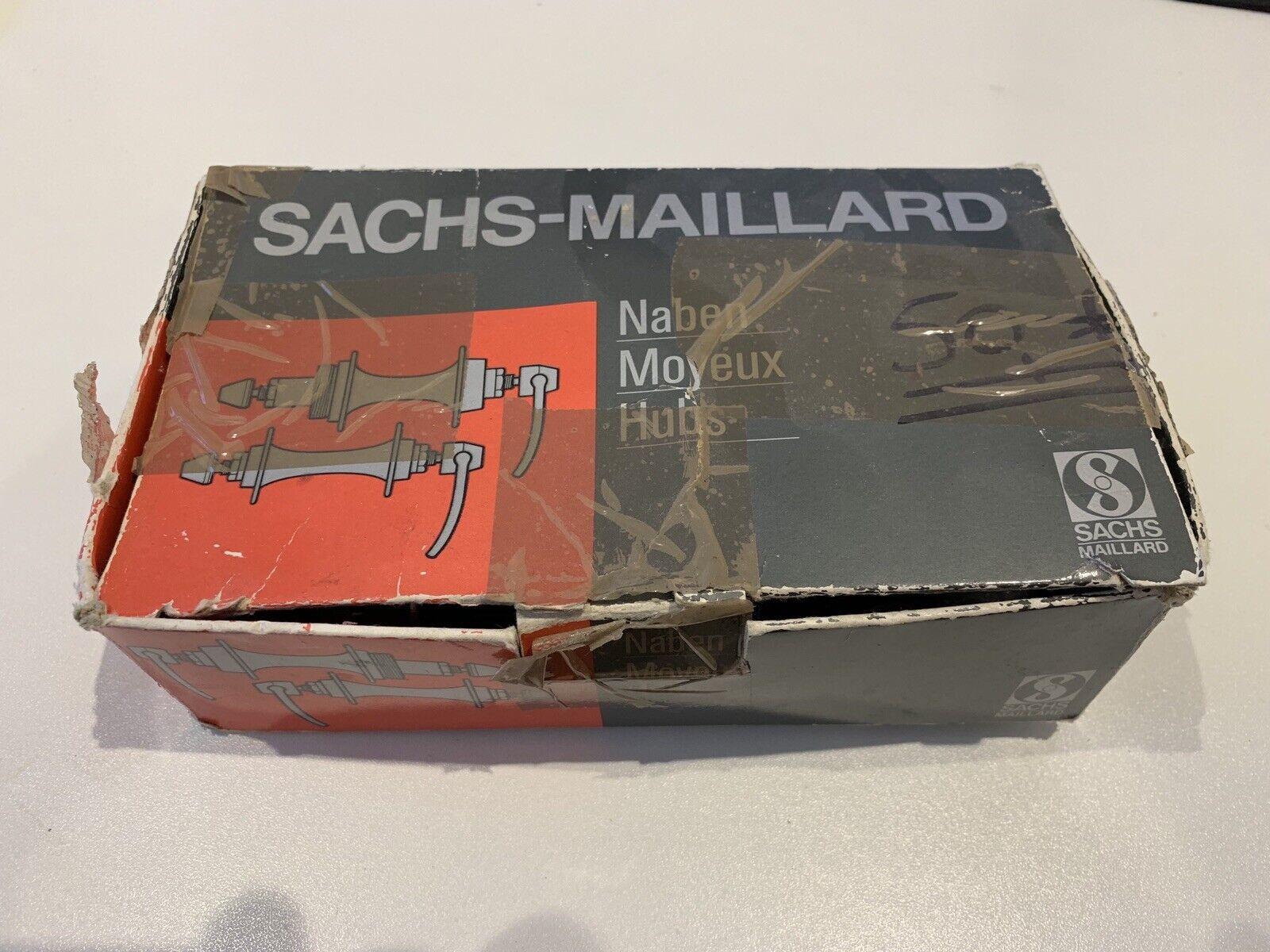 Rare vintagge retro NOS Sachs-Maillard MTB hubs -7spd- 100 135mm