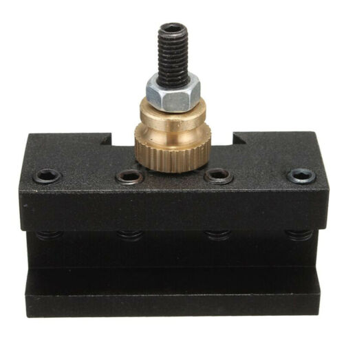 "Mini Lathe 1//4/""-1//2/"" Cylindrical Facing Milling Turning Tool Post Holder"