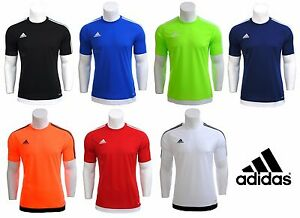 Adidas-Boys-Junior-Kids-Climalite-Crew-Training-Gym-Football-T-Shirt-Top-5-16