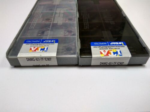10 PC Original ISCAR DNMG150404-TF IC907 DNMG431-TF IC907
