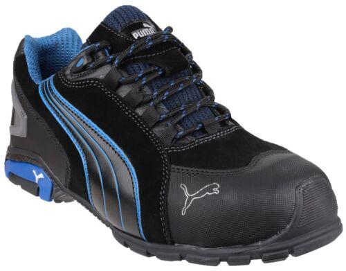 Industrial Seguridad Rio Puma azul Negro Hombre Bajo Botas Trabajo De YqwwRI