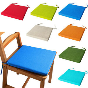 Chair Cushions With Ties Seat Pads