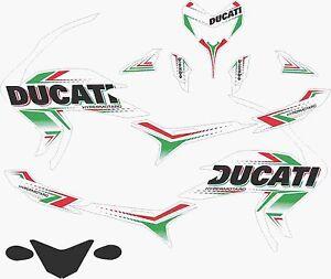 DUCATI HYPERMOTARD 821 SP full decals stickers graphics logo set kit