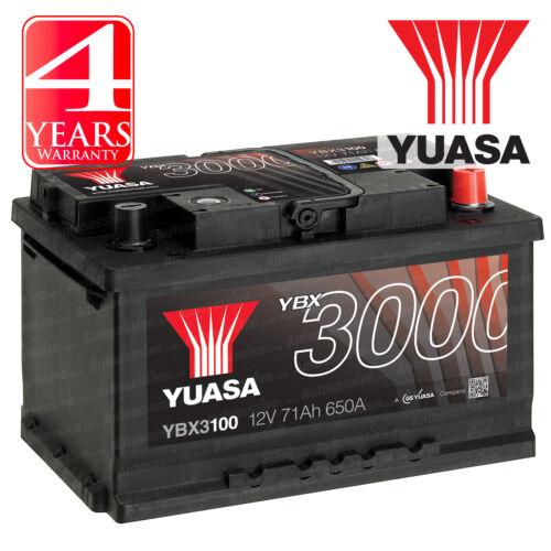 Yuasa Car Battery Calcium 12V 650CCA 71Ah T1 For Opel Vectra C 1.9 CDTi 150