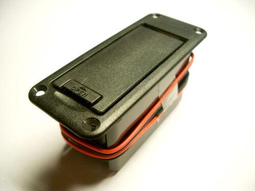 9V Block Gotoh Snap-In Batteriefach f