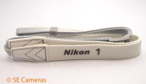 Genuine NIKON 1 Blanco Correa De Cuello-NIKON Stock-Nuevo