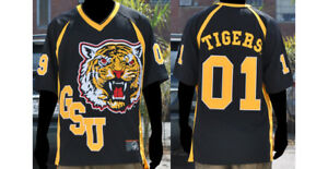 buy popular 74b13 4706c Details about Grambling State University Jersey SWAC GSU Tigers