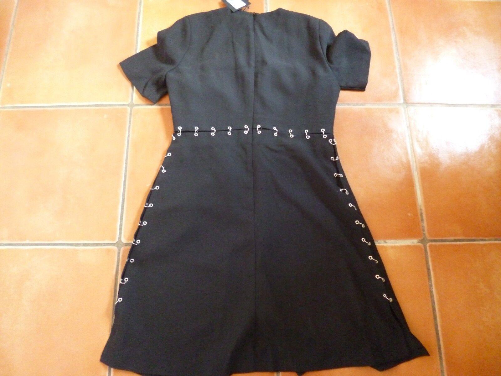BNWT BNWT BNWT KOOPLES nero a contrasto THE vestito, S, 8-10 75d2ba