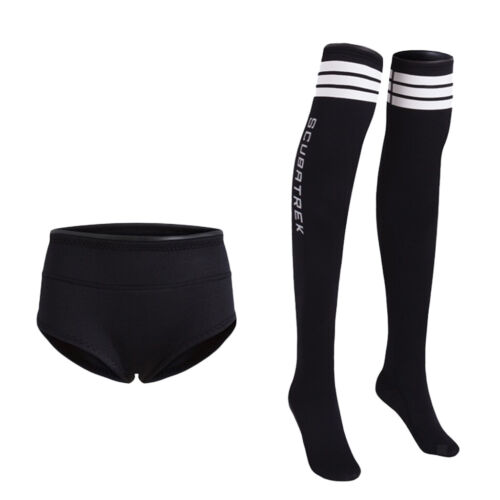 Neopren Bikinislip Bikinihose Unterwäsche Badehose Schwimmhose Schwarz XL