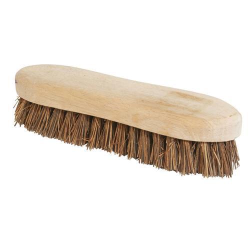 Indoor /& Outdoor Use Stiff Basine /& Cane Mix Bris 203mm 8 Inch Scrubbing Brush