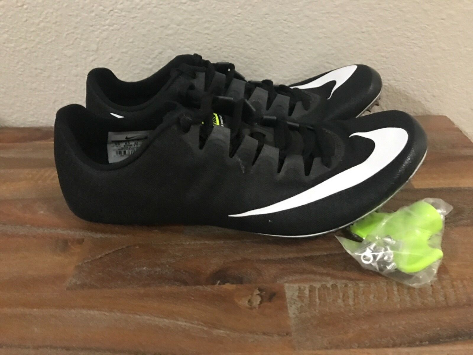 Nike Zoom Black Superfly Elite Track Spikes Black Zoom White 835996-017 Sz 6.5 9, 10.5-11.5 3b4a98