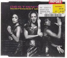 NEW Destiny's Child ~ Independent Women Part 1 (Australia)(Sony 2000 single CD)