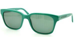 c93bbc739ef2 Image is loading Burberry-4140-Green-Sunglasses-Grey-lenses-3389-71-