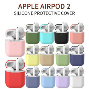 For Apple Airpod 2 Wireless Charging Case Silicone Protective