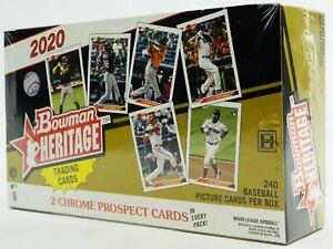 2 Box Random Team Break - 2021 Topps Heritage + 2020 Bowman Heritage Baseball