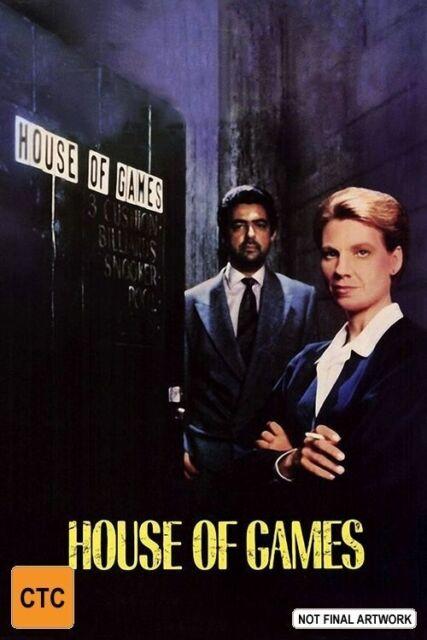 HOUSE of GAMES - DVD - 1987 Lindsay CROUSE - Joe MANTEGNA - J.T. WALSH - RARE !