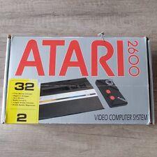 Atari 2600 ► Konsole | Gamepad | 32 Spiele | Anschluß Kabel ◄ Retro | TOP & OVP