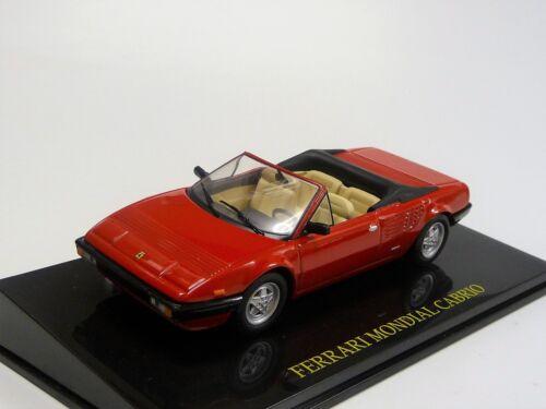 Ferrari Mondial Cabrio rot  IXO//Altaya//SpecialC Neu in OVP 1//43