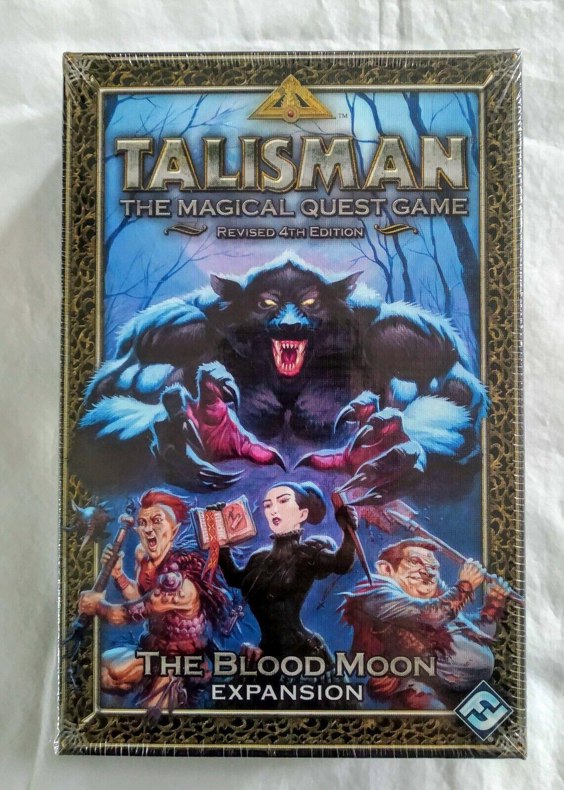 Talismán El magicla Quest Juego 4th edición revisada  la expansión de luna de sangre