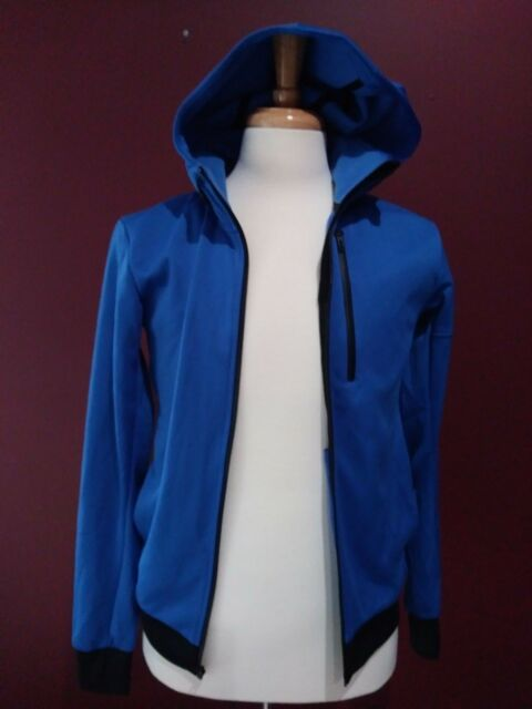 NEW Adidas Performance Mens AIS Daybreaker Jacket Blue Size Small Running Track