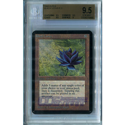 Black Lotus (Alpha) - BGS GEM MINT 9.5 X1 (Graded Cards) MTG (NM) *CCGHouse* Mag