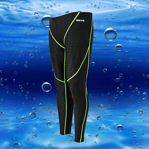 Mens  Super Stretch Neoprene Scuba Diving Surfing Wetsuit Trousers Long Pants