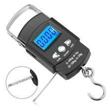 Portable Crane Lcd Digital Electronic Hook Hanging Scale With Tape Measure K