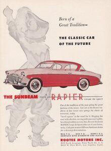 1956-Sunbeam-Rapier-Coupe-de-Sport-art-034-A-Future-Classic-034-vintage-promo-print-ad