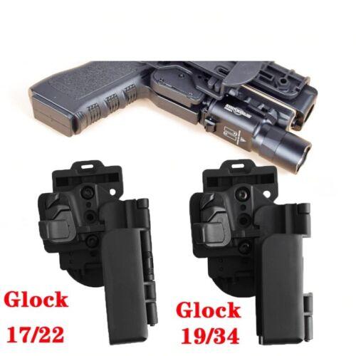 Tactical Combat Right Hand Level 3 Carry Quick OWB Gun Case Waist Belt Holster