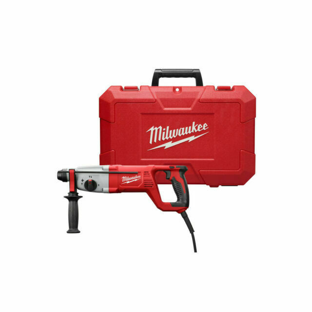 """Milwaukee 5262-81 1/"""" SDS Plus Corded Rotary Hammer Kit for sale online"""
