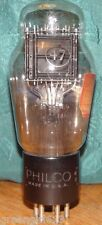 Vintage Engraved Philco 47 Vacuum Tube Low Testing Results= 44